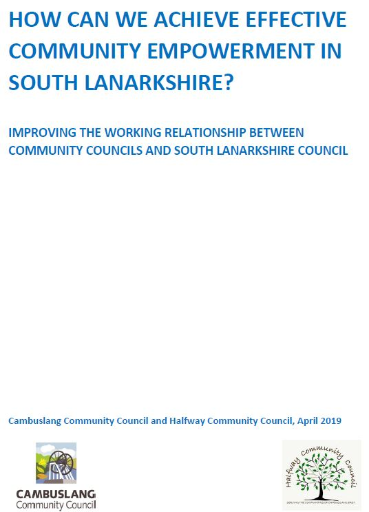 New CCC report on improving community empowement in South Lanarkshire
