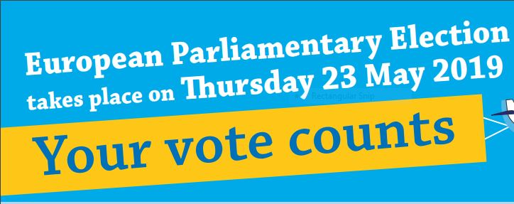 European Parliament elections: make sure you can vote!
