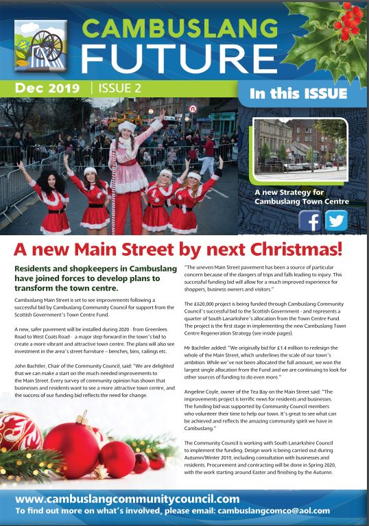 Our Cambuslang Future newsletter – Christmas edition – is out now!