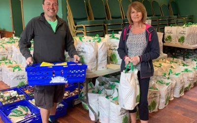 CCC supporting families through the crisis with the Cambuslang Food Hub