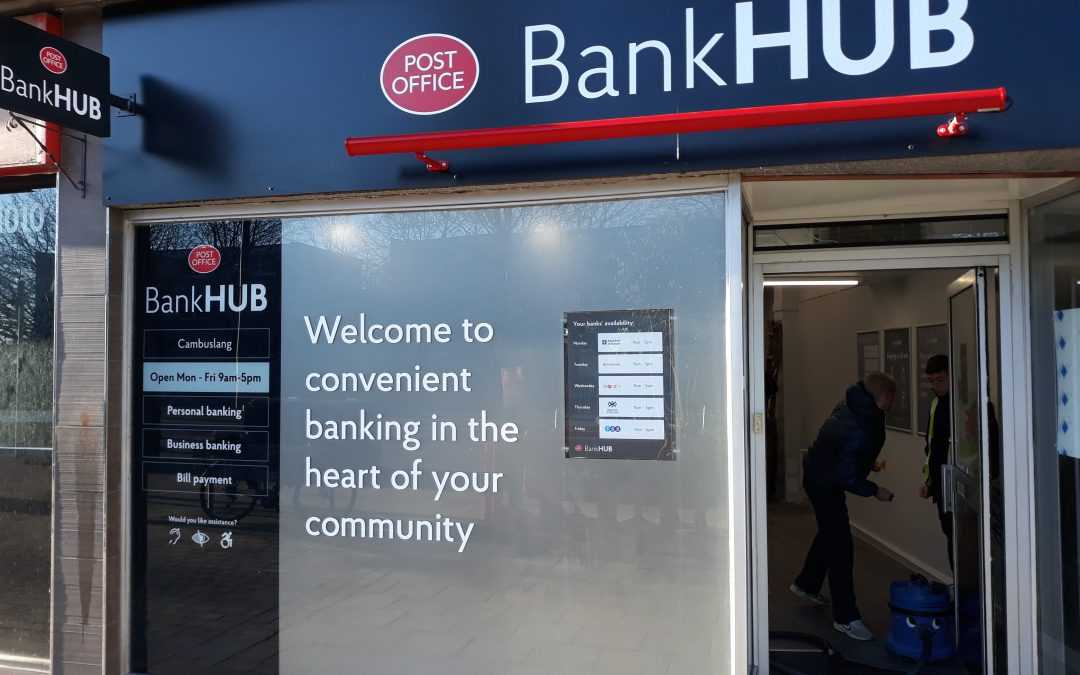Cambuslang BankHUB to continue until at least April 2023