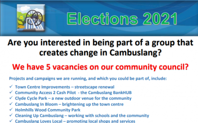 We are looking for new members – 5 vacancies on the Community Council